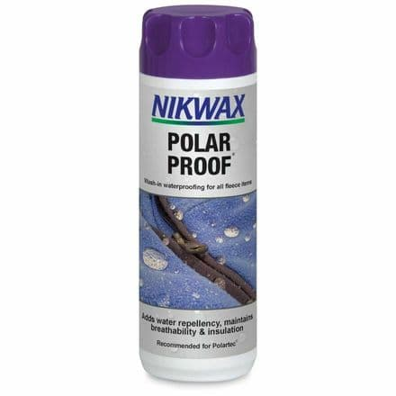 Nikwax Polar Waterproofing Fleece Clothing